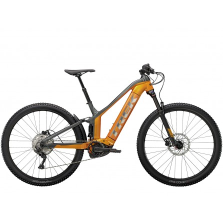 Bicicletta Trek Powerfly FS 4 625w - Factory Orange/Lithium Grey