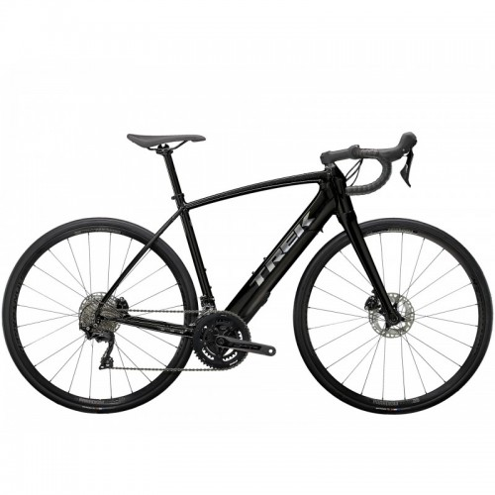 Bicicletta Trek Domane+ ALR - Voodoo Trek Black