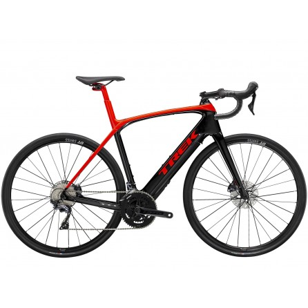 Bicicletta Trek Domane+ LT - Radioactive Red/Trek Black