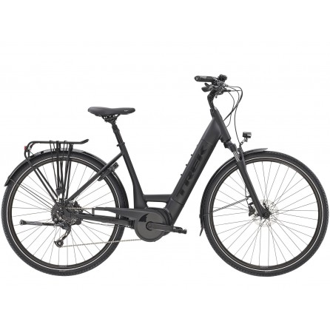 Bicicletta Trek Verve+ 3 Lowstep 2021 - Matte Trek Black