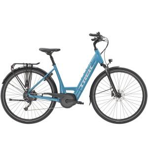 Bicicletta Trek Verve+ 3 Lowstep 2021 - Teal