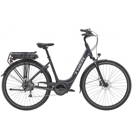 Bicicletta Trek Verve+ 1 Lowstep 300w - Solid Charcoal