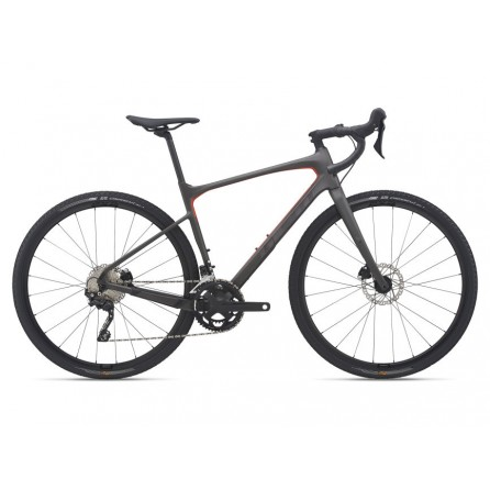 Bicicletta Gravel Giant Revolt Advanced 3 2021 Warm Black