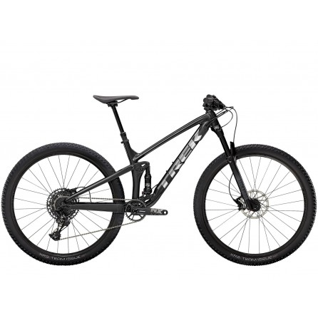 Bicicletta Trek Top Fuel 8 NX 2021 - Satin Trek Black