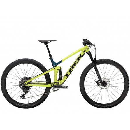 Bicicletta Trek Top Fuel 8 NX 2021 - Volt/Dark Aquatic