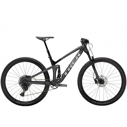 Bicicletta Trek Top Fuel 7 SX 2021 -Lithium Grey/Trek Black