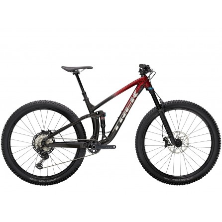 Bicicletta Trek Fuel Ex 8 XT 2021 - Rage Red to Dnister Black Fade