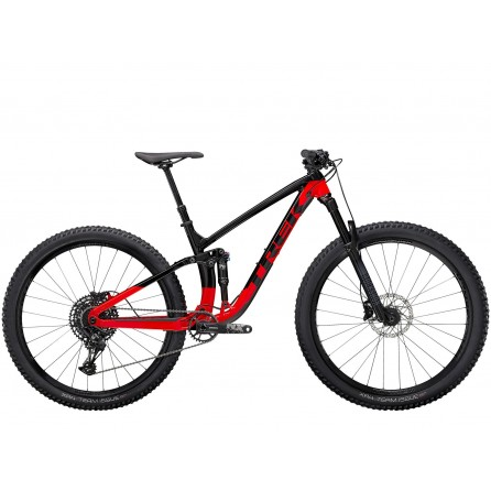 Bicicletta Trek Fuel Ex 7 NX 2021 - Trek Black/Radioactive Red