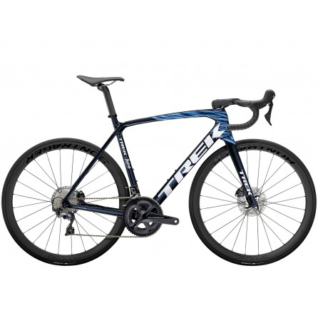 Bicicletta Trek Emonda SLR 6 2021 - Navy Carbon Smoke/Viper Red