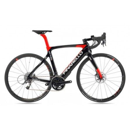 Bicicletta e-bike Pinarello Nytro Ultegra Fulcrum Disk Tg.55 Black-Red