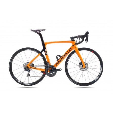 Bicicletta Pinarello Prince disk Ultegra Fulcrum Racing 500 Tg.51.5 colore 720 Orange