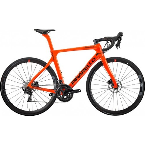 Bicicletta Pinarello Paris 2021 Tg.46 Shimano Ultegra  A013 Orange