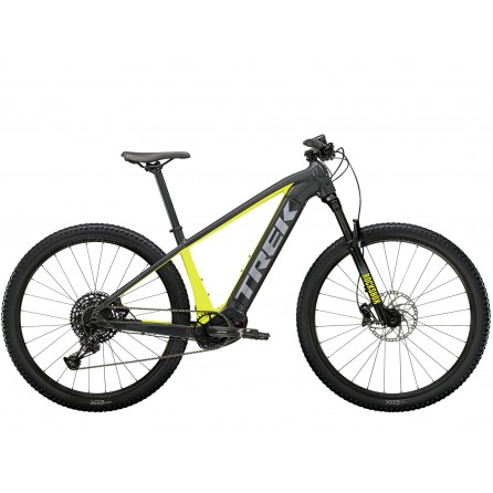 Bicicletta E-bike Trek Powerfly 5 2021 - Grey Slate/Green Volt