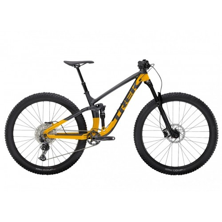 Bicicletta Trek Fuel Ex 5 2021 Lithium Grey/Marigold Orange
