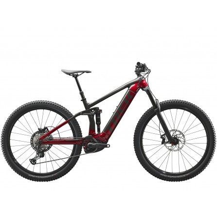 Bicicletta E-bike Trek Rail 7 2021 Dnister Black/Rage Red