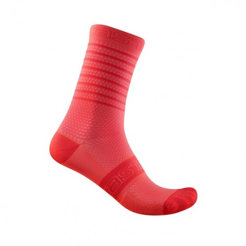 Calze Castelli Superleggera W12 Sock Brilliant Pink
