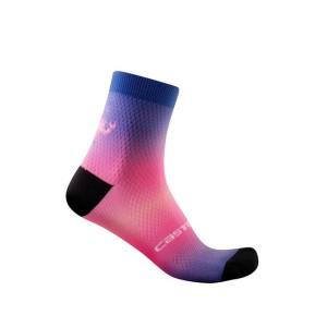 Calze Castelli Gradient 10 Sock Lapis Blue