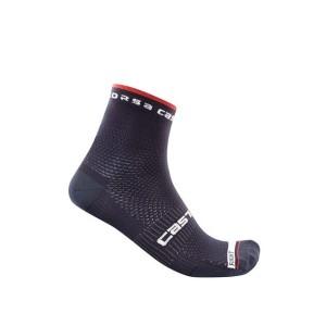Calze Castelli Rosso Corsa Pro 9 Sock Saville Blue