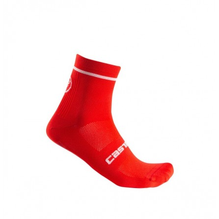 Calze Castelli Entrata 9 Sock Red