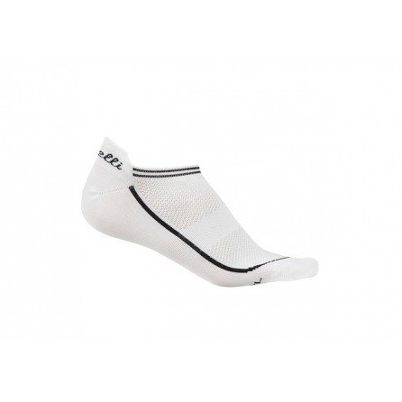 Calze Castelli Invisible Sock White
