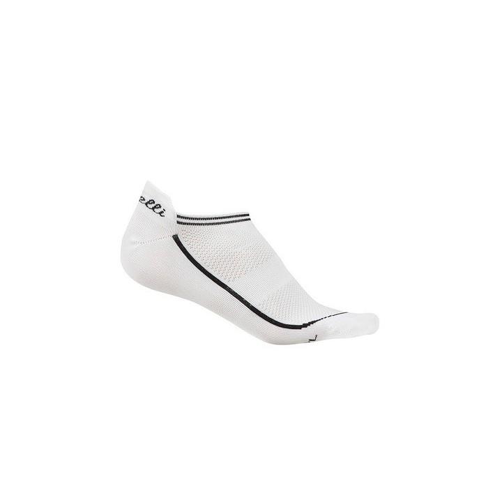 Calze Castelli Invisible Sock White