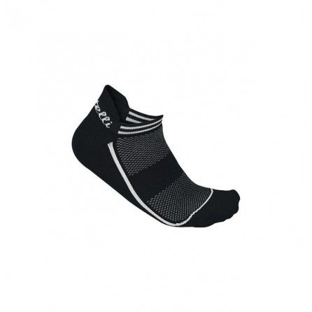 Calze Castelli Invisible Sock Black