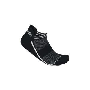 Calze Castelli Invisible Sock Black