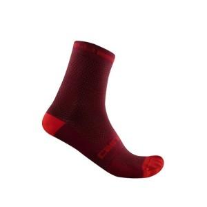 Calze Castelli Superleggera T12 Sock Bordeaux