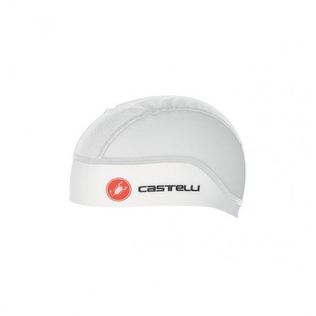 Copricapo Castelli Summer Skull Cycling Cap Bianco